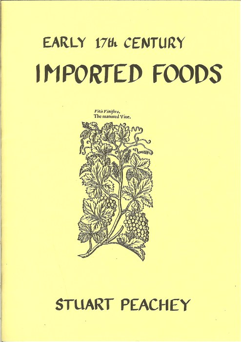 Image for EARLY 17TH CENTURY IMPORTED FOODS