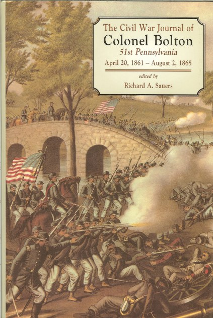Image for THE CIVIL WAR JOURNAL OF COLONEL BOLTON