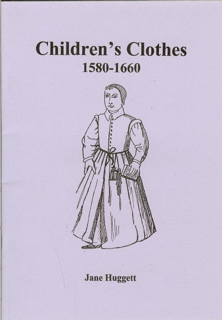 Image for CHILDREN'S CLOTHES 1580-1660