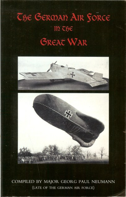 Image for THE GERMAN AIR FORCE IN THE GREAT WAR