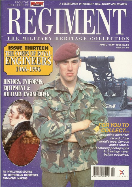 Image for REGIMENT: ISSUE THIRTEEN - THE CORPS OF ROYAL ENGINEERS 1066-1996