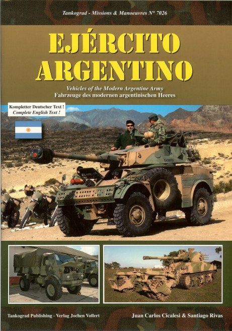 Image for EJERCITO ARGENTINO: VEHICLES OF THE MODERN ARGENTINE ARMY