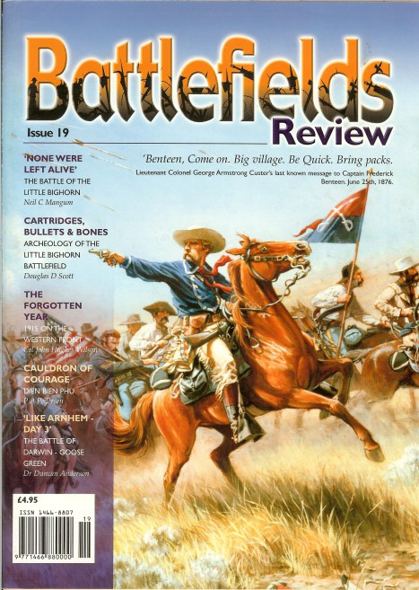 Image for BATTLEFIELDS REVIEW ISSUE NO.19