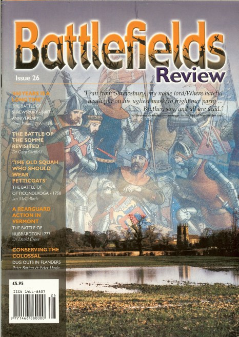 Image for BATTLEFIELDS REVIEW ISSUE NO.26