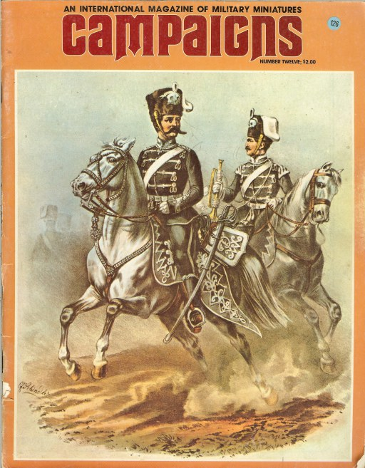 Image for CAMPAIGNS: AN INTERNATIONAL MAGAZINE OF MILITARY MINIATURES: NO.12, VOL.1 SEPTEMBER/OCTOBER 1977