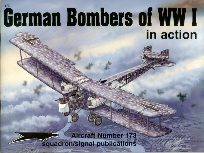 Image for GERMAN BOMBERS OF WORLD WAR I IN ACTION