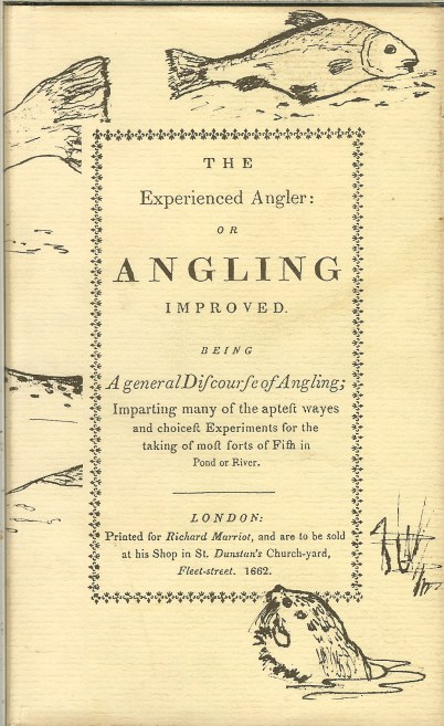 Image for THE EXPERIENCED ANGLER OR ANGLING IMPROVED