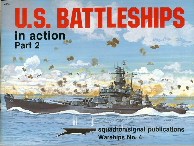 Image for US BATTLESHIPS IN ACTION PART 2