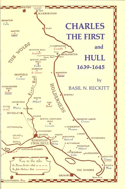 Image for CHARLES THE FIRST AND HULL 1639-1645