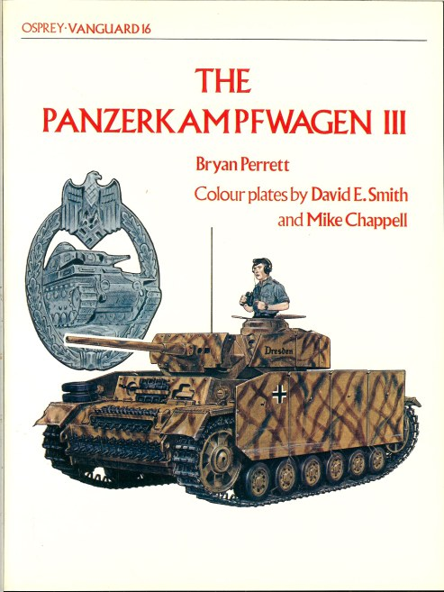 Image for OSPREY VANGUARD 16: THE PANZERKAMPFWAGEN III