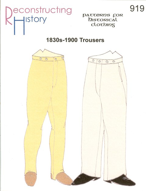 Image for RH919: 1830S - 1900 LOUNGE TROUSERS