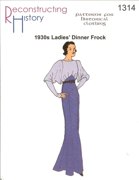 Image for RH1314: 1930S LADIES' DINNER FROCK