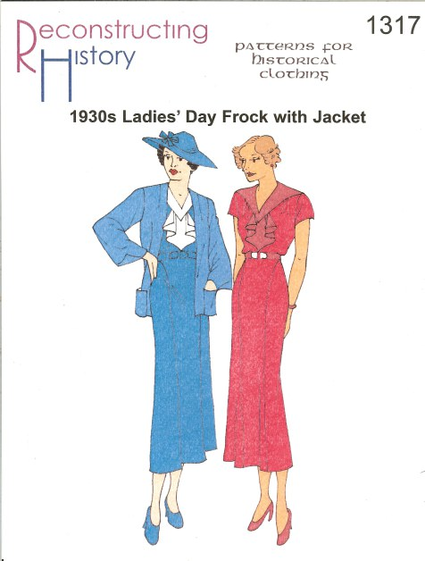 Image for RH1317: 1930S LADIES' DAY FROCK WITH JACKET