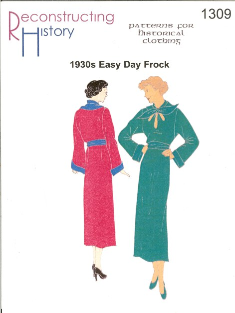Image for RH1309: 1930S LADIES' EASY DAY FROCK