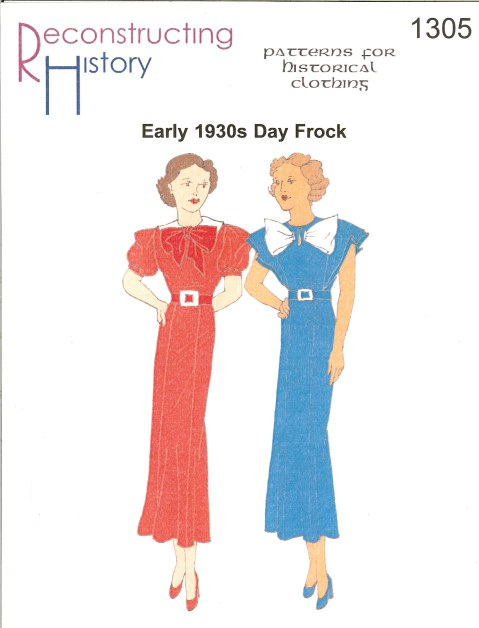 Image for RH1305: EARLY 1930S LADIES' DAY FROCK