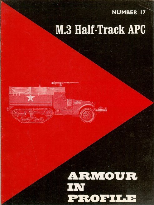 Image for ARMOUR IN PROFILE 17: M3 HALF-TRACK APC