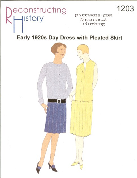 Image for RH1203: LATE 1920S DAY DRESS WITH PLEATED SKIRT