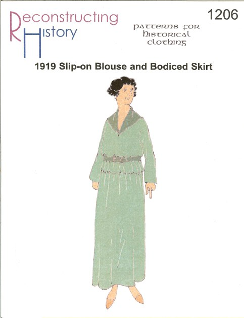 Image for RH1206: 1919 SLIP-ON BLOUSE AND BODICED SKIRT