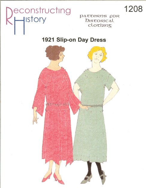 Image for RH1208: 1921 SLIP-ON DAY DRESS