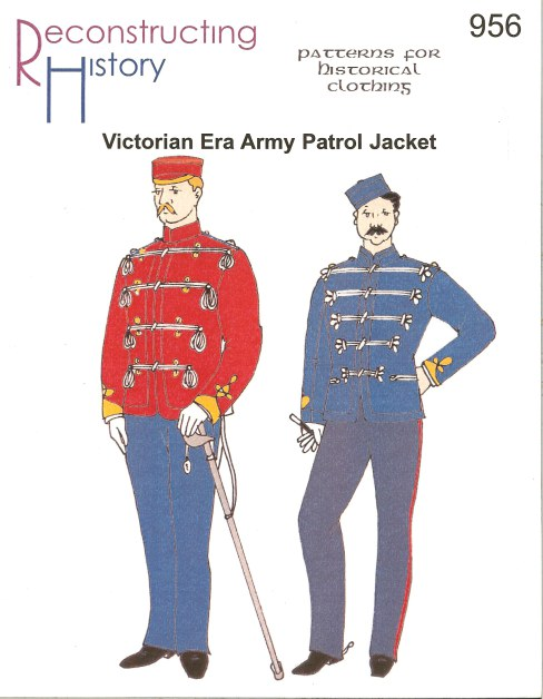 Image for RH956: VICTORIAN ERA ARMY PATROL JACKET