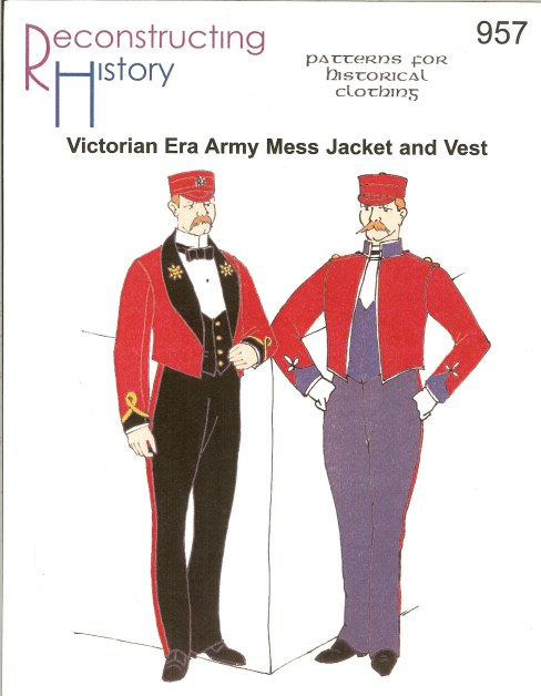 Image for RH957: VICTORIAN ERA ARMY MESS JACKET AND VEST