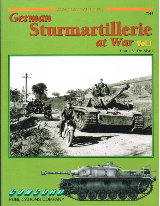 Image for GERMAN STURMARTILLERIE AT WAR VOL.1