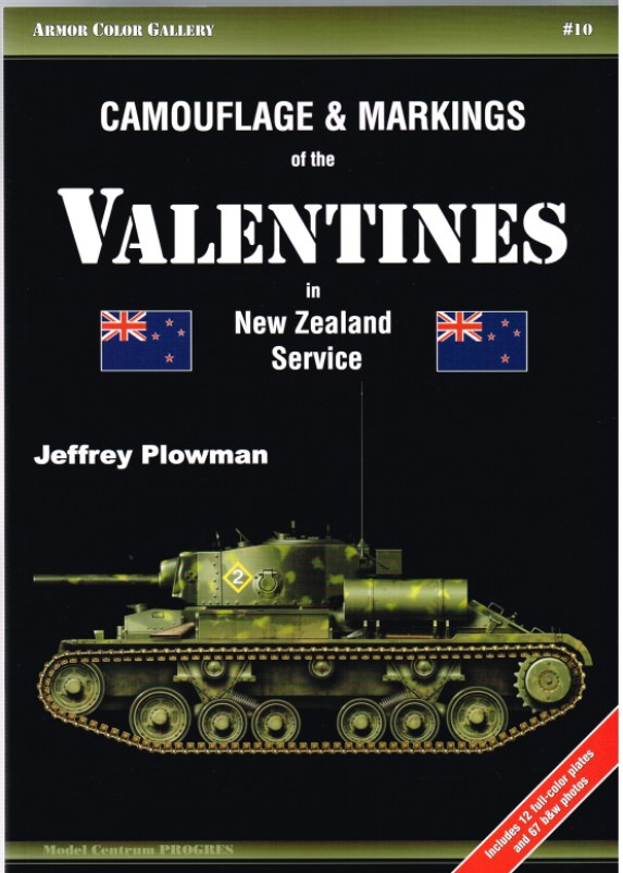 Image for CAMOUFLAGE & MARKINGS OF THE VALENTINES IN NEW ZEALAND SERVICE