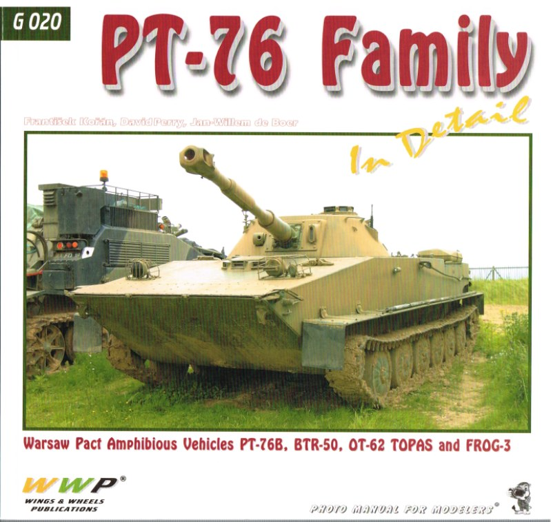 Image for PT-76 FAMILY IN DETAIL