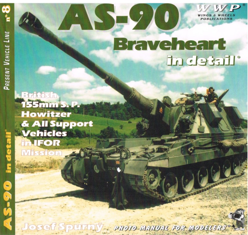 Image for PRESENT VEHICLE LINE NO.8: AS-90 BRAVEHEART IN DETAIL