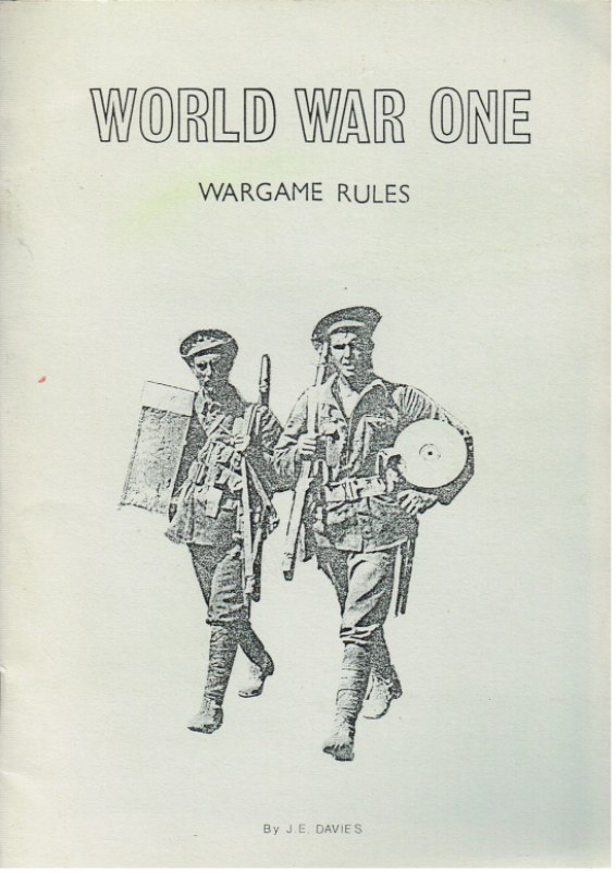 Image for WORLD WAR ONE WARGAMES RULES (AMENDED EDITION)