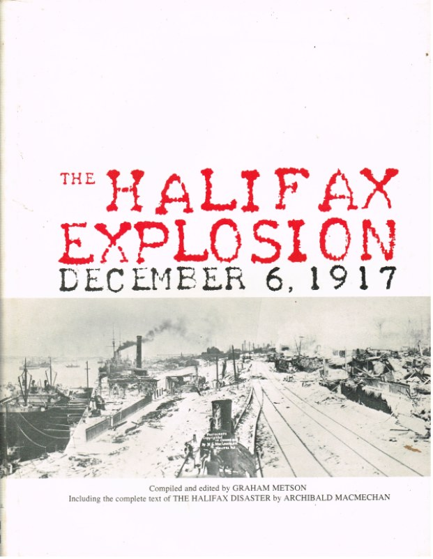 Image for THE HALIFAX EXPLOSION DECEMBER 6, 1917