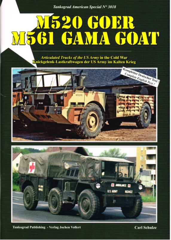 Image for M520 GOER M561 GAMA GOAT: ARTICULATED TRUCKS OF THE US ARMY IN THE COLD WAR
