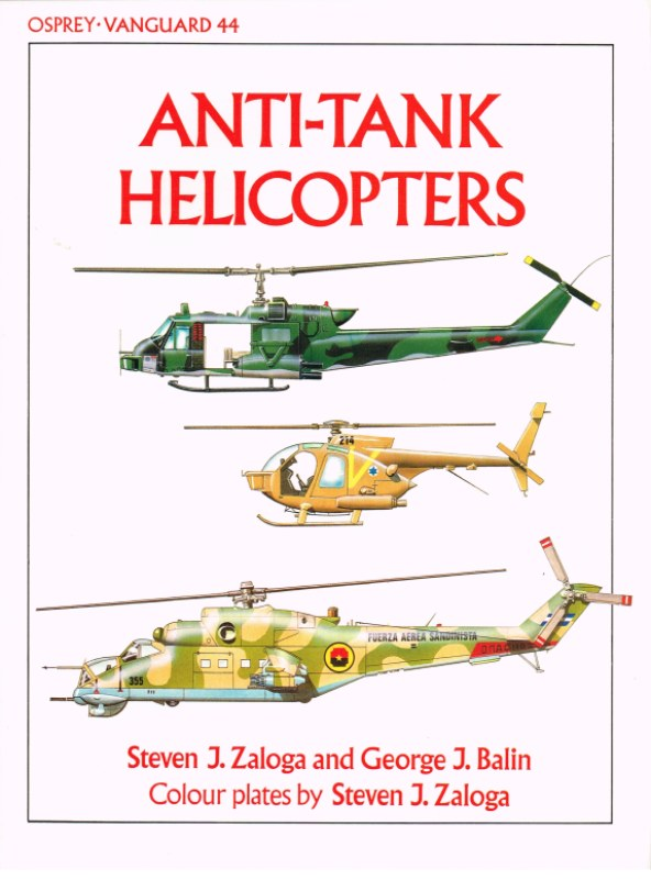 Image for OSPREY VANGUARD 44: ANTI-TANK HELICOPTERS