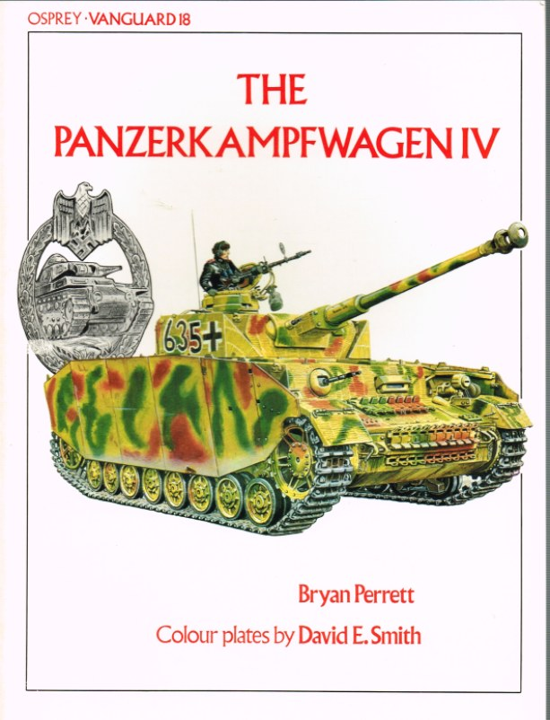 Image for OSPREY VANGUARD 18: THE PANZERKAMPFWAGEN IV