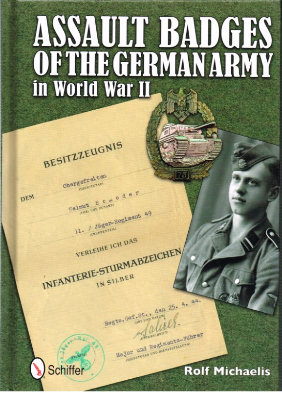 Image for ASSAULT BADGES OF THE GERMAN ARMY IN WORLD WAR II