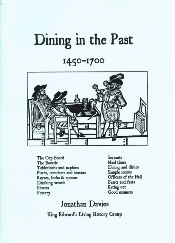 Image for DINING IN THE PAST 1450-1700