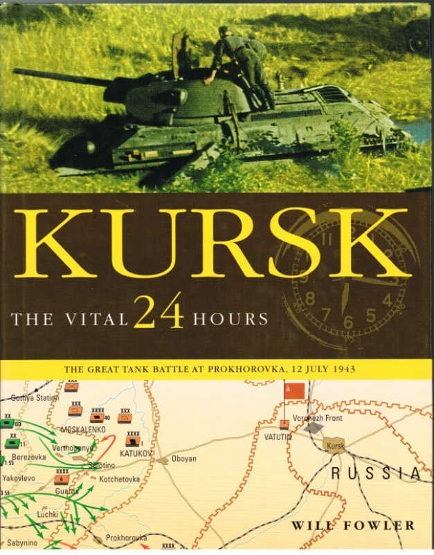 Image for KURSK: THE VITAL 24 HOURS