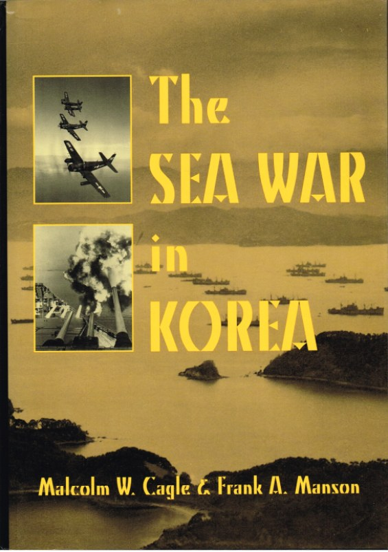 Image for THE SEA WAR IN KOREA