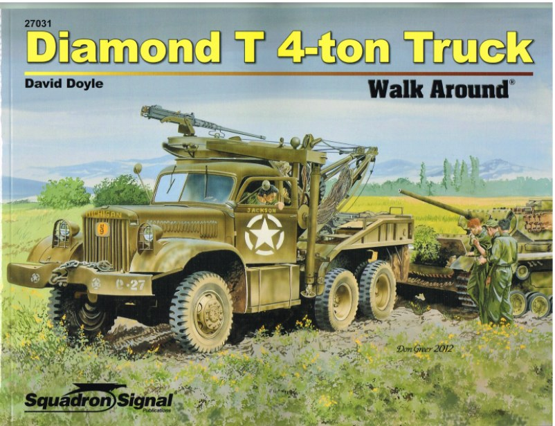 Image for DIAMOND T 4-TON WALK AROUND