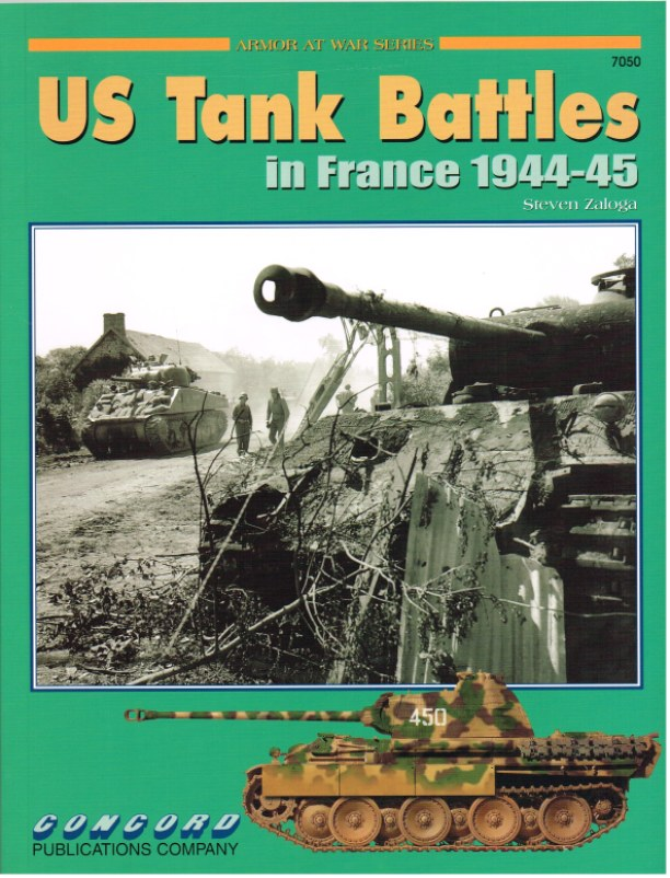 Image for US TANK BATTLES IN FRANCE 1944-45
