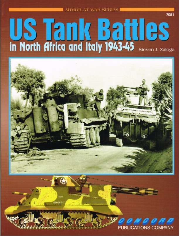 Image for US TANK BATTLES IN NORTH AFRICA AND ITALY 1943-45