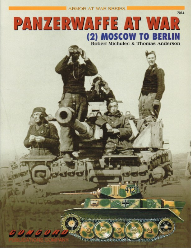 Image for PANZERWAFFE AT WAR (2) MOSCOW TO BERLIN