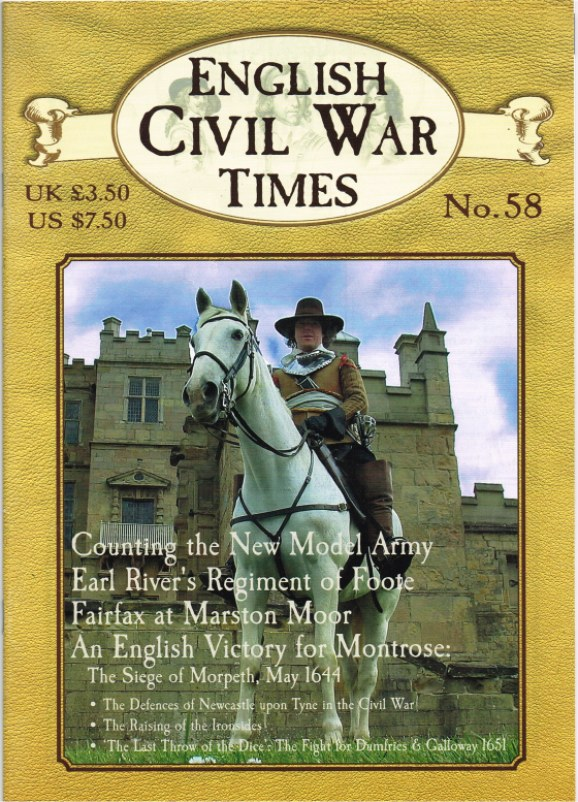 Image for ENGLISH CIVIL WAR TIMES: NO.58