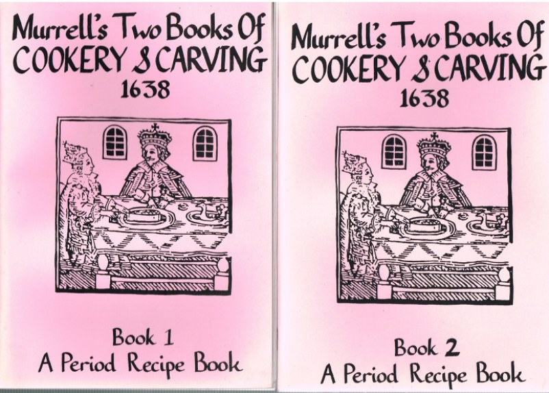 Image for MURRELL'S TWO BOOKS OF COOKERY AND CARVING 1638 (TWO VOLUME SET)