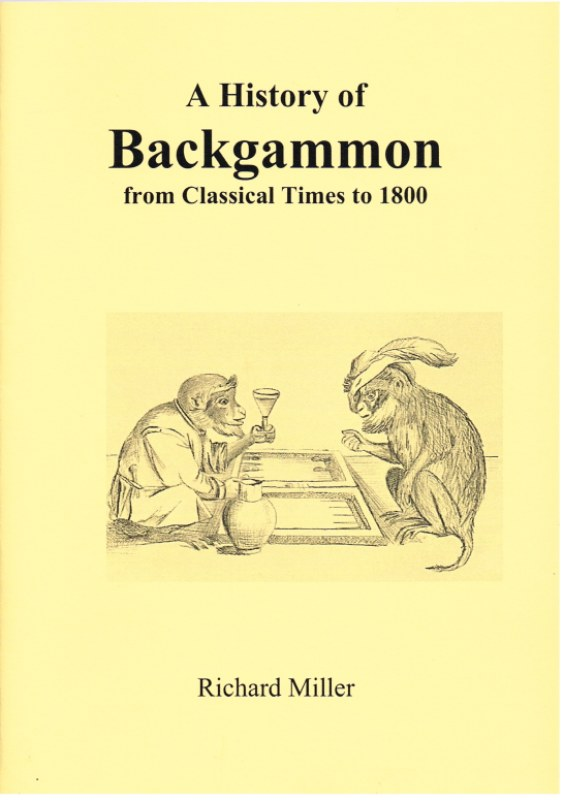 Image for A HISTORY OF BACKGAMMON FROM CLASSICAL TIMES TO 1800