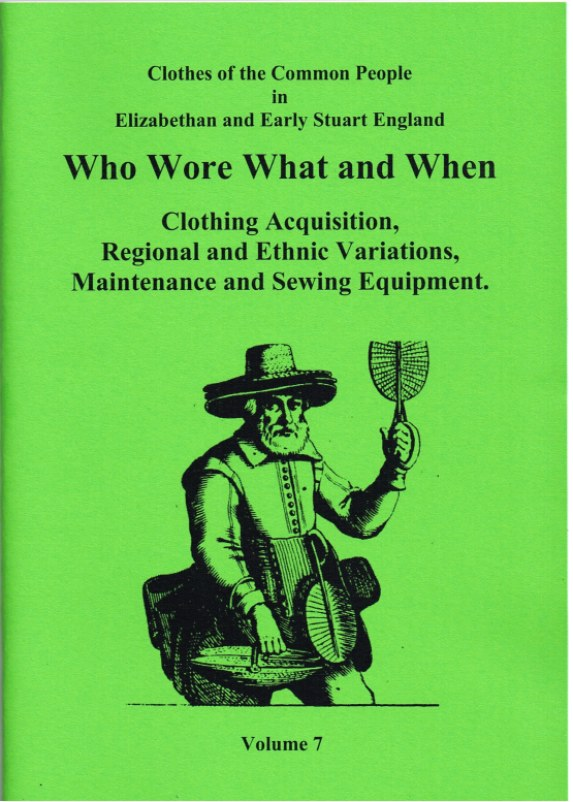 Image for CLOTHES OF THE COMMON PEOPLE VOLUME 7: WHO WORE WHAT AND WHEN (PART 1)