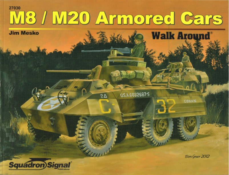 Image for M8 / M20 ARMORED CARS WALK AROUND