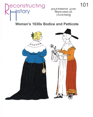 Image for RH101: WOMEN'S 1630S BODICE AND PETTICOTE