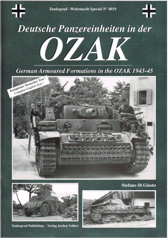 Image for GERMAN ARMOURED FORMATIONS IN THE OZAK 1943-45