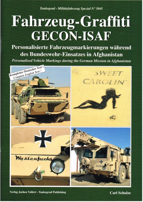 Image for FAHRZEUG-GRAFFITI GECON-ISAF: PERSONALISED VEHICLE MARKINGS DURING THE GERMAN MISSION IN AFGHANISTAN